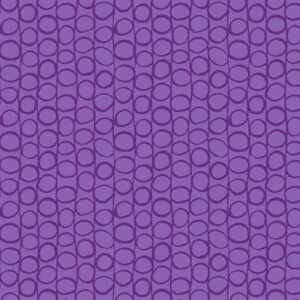 Flower And Dot By Stof - Purple/Purple