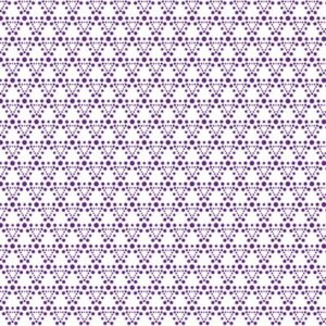 Flower And Dot By Stof - Purple