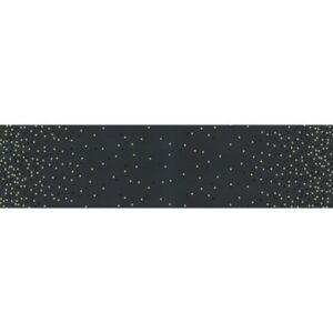 Ombre Confetti Metallic By V & Co By Moda - Soft Black
