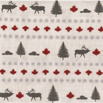 True North By Kate & Birdie Paper Co. For Trendtex - Linen