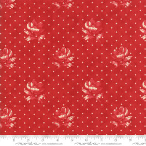 Farmhouse Red By Minick & Simpson For Moda - Tonal Red