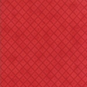 Farmhouse Red By Minick & Simpson For Moda - Red