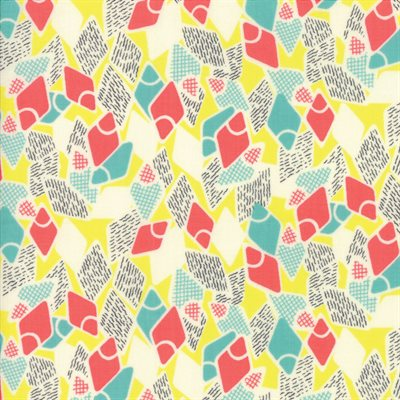 Remix By Jen Kingwell For Moda - Limoncello
