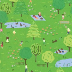 Sunday Picnic By Stacy Iest Hsu For Moda - Green