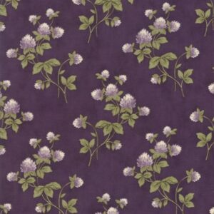 Clover Meadow By Jan Patek For Moda - Purple