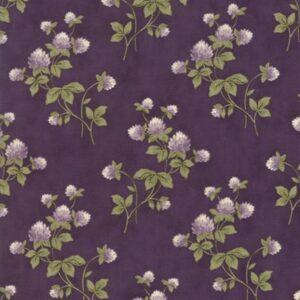 Clover Meadow By Jan Patek For Moda - Purple