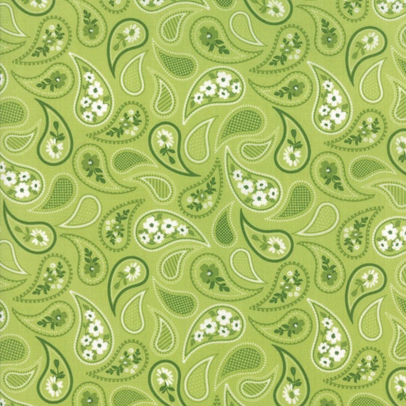 Mama's Cottage By April Rosenthal For Moda - Lime