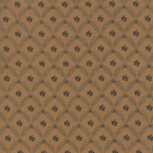 Grace's Garden 1830-1860 By Betsy Chetchian For Moda - Teal/Tan