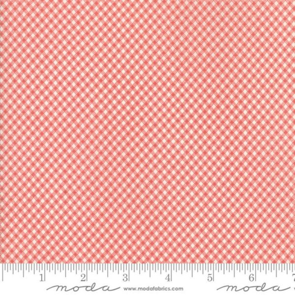 Victoria By 3 Sisters For Moda - Ivory/Rouge