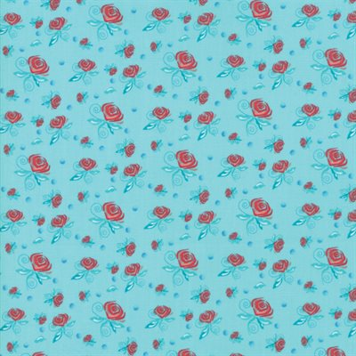Coledale By Quilt Jane For Moda - Turquoise