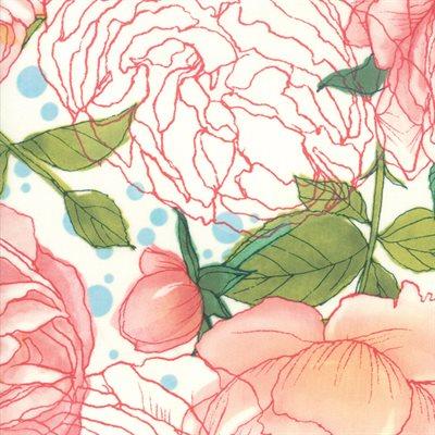 Abby Rose By Robin Pickens For Moda - Cream