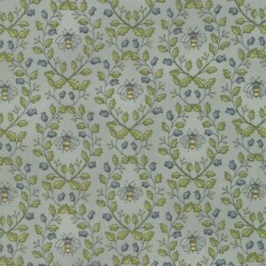 Garden Notes By Kathy Schmitz For Moda - Morning Glory Blue