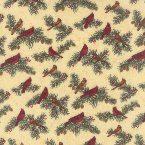 Cardinal Reflection Flannels By Holly Taylor - Cream