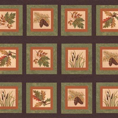 Fall Impressions Flannel By Holly Taylor For Moda - Nutmeg