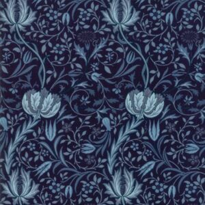 Morris Garden By V & A For Moda - Indigo