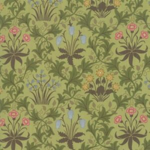 May Morris Studio By V & A For Moda - Sage