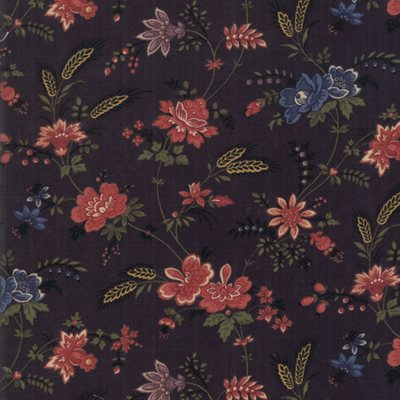 Milestones By Kansas Troubles Quilters For Moda - Black