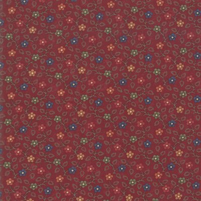 Milestones By Kansas Troubles Quilters For Moda - Red