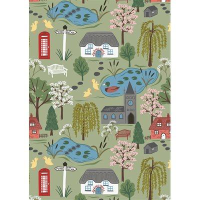 The Village Pond By Lewis & Irene - Light Grass