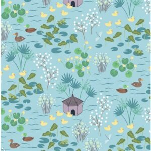 The Village Pond By Lewis & Irene - Light Blue
