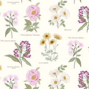 Botanic Garden By Lewis & Irene - Cream