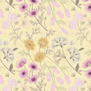 Botanic Garden By Lewis & Irene - Pale Yellow