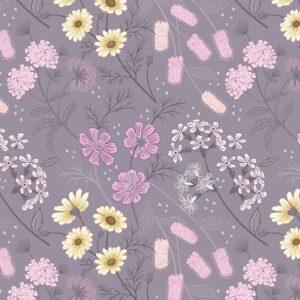 Botanic Garden By Lewis & Irene - Warm Lilac
