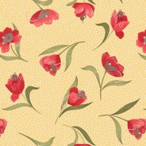 Tulip Fields By Lewis & Irene - Yellow