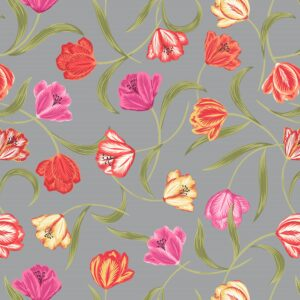 Tulip Fields By Lewis & Irene - Grey