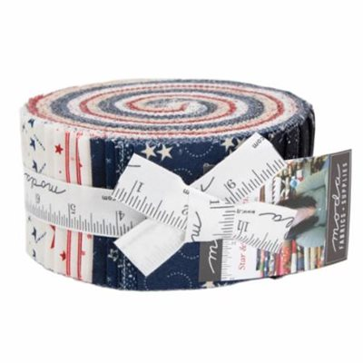 Star And Stripe Gatherings Jelly Roll By Moda