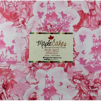 Pixie Dust Assortment Maple Cakes - 40 Pcs./ Packs Of 4