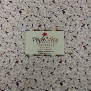 Neutrals Assortment Maple Cakes - 40 Pcs./ Packs Of 4