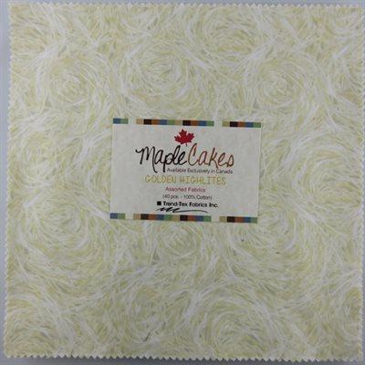 Golden Highlites Assortment Maple Cakes - 40 Pcs./ Packs Of 4