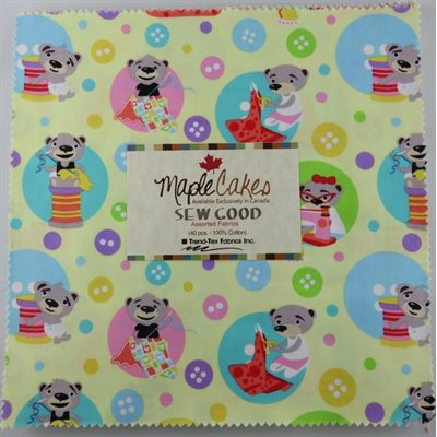 Sew Good Assortment Maple Cakes - 40 Pcs./ Packs Of 4