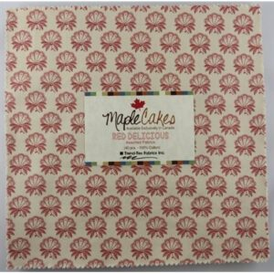 Red Delicious Assortment Maple Cakes - 40 Pcs./ Packs Of 4