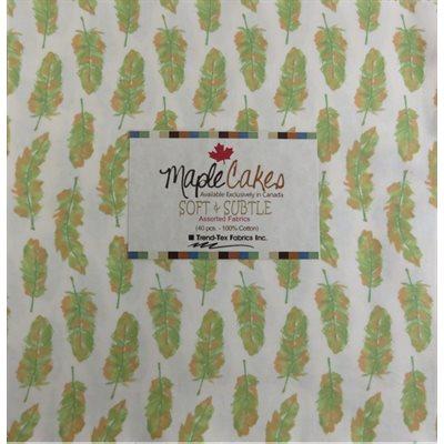 Soft & Subtle Assortment Maple Cakes - 40 Pcs./ Packs Of 4