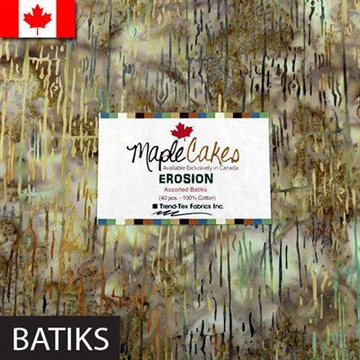 Erosion Assortment Maple Cakes - 40 Pcs./ Packs Of 4