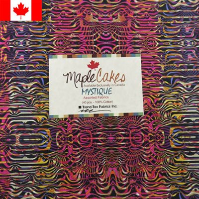 Mystique Assortment Maple Cakes - 40 Pcs./ Packs Of 4