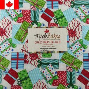 Christmas In July Assortment Maple Cakes - 40 Pcs./ Packs Of 4
