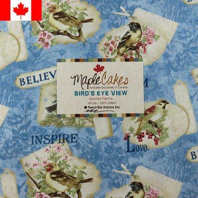 Bird's Eye View Assortment Maple Cakes - 40 Pcs./ Packs Of 4