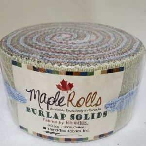 Burlap Solids Maple Rolls