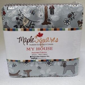My House Assortment Maple Squares