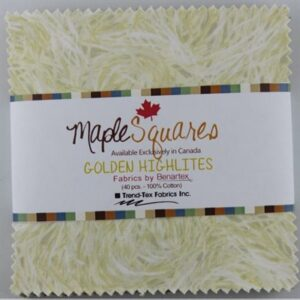 Golden Highlites Maple Squares - 40 Pcs./Packs Of 12