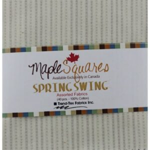 Spring Swing Maple Squares - 40 Pcs./Packs Of 12