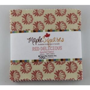 Red Delicious Maple Squares - 40 Pcs./Packs Of 12