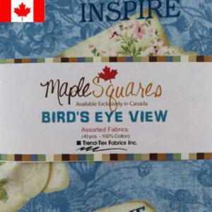 Bird's Eye View Assortment Maple Squares - 40 Pcs./Packs Of 12