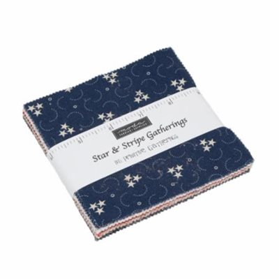 Star And Stripe Gatherings Charm Pack By Moda