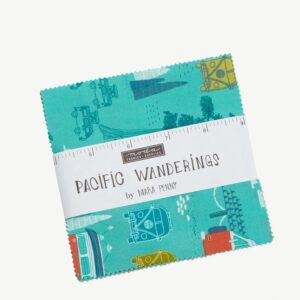Pacific Wanderings Charm Pack By Moda