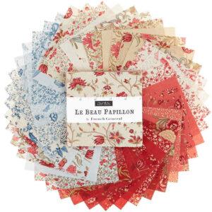 Le Beau Papillon Charm Pack By Moda