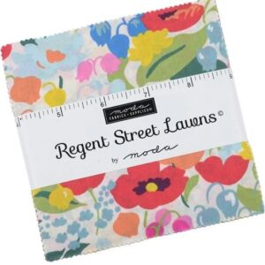 Regent Street Lawns 2019 Charm Pack By Moda